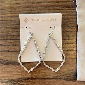 Kendra Scott Sophee Drop Earrings Silver